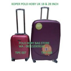 Tas Koper Polo Hoby 1 Set 2 Pc Ukuran:18 + 28 Inch - Boz45c