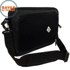 Review Tas Laptop Blasted 15 Inchi 6060 Bisa Ransel Bisa Selempang Messenger Frontside Emboss Original Black Raincover