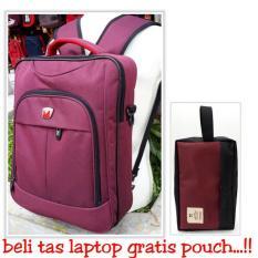 tas laptop murah/Tas Ransel Lengkap ( Jinjing slempang Gendong) tas/Tas Sekolah Cewek /Tas Kuliah/TasSlempang/ Tas Cowok