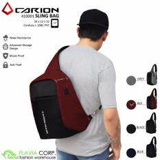 Jual Tas Anti Maling Mini Ransel Single Strap Smart Bag 410001 Merah Carion