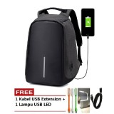 Katalog Tas Model Xd Ransel Backpack Anti Theft Maling Laptop Bag Punggung Free Lampu Usb Led Terbaru