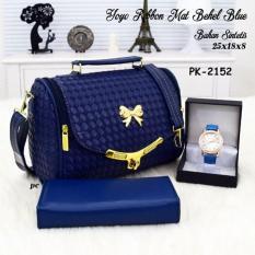 Tas Murah / Tas Paket / Paketan / Set / Tas 3 in 1 / tas selempang wanita / tas kerja wanita / tas jinjing / tas wanita model terbaru