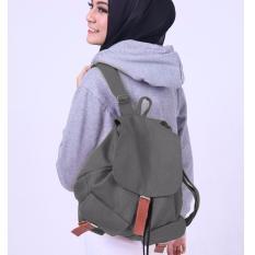 Harga Tas Muslimah Korean Bag Grey Murah