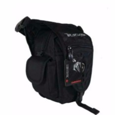 Review Tas Paha Tracker 4140 3 In1 Nylon Black Terbaru