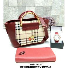 Tas Paket Burberry Apple