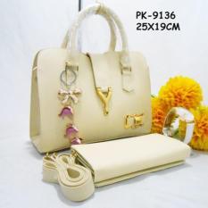 Tas Paket / Paketan / Set / Tas 3 in 1 / Tas Murah / tas selempang wanita / tas kerja wanita / tas jinjing wanita / tas wanita model terbaru