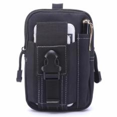 Beli Tas Pinggang Pria Army Tactical Molle Waist Small Bag Military Black Pakai Kartu Kredit