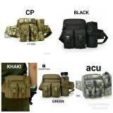 Jual Tas Pinggang Tactical Army Dengan Tempat Botol Green Baru