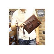 Tas Pria Import - Handbag Coffee Zippers 400
