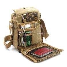 Jual Tas Pria Kanvas Selempang Real Picture Slempang Vintage Messenger Shoulder Bag Ab 58 01 Cream Murah