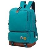 Spesifikasi Tas Punggung Ransel Backpack Tas Sekolah Travel Bag 3P Fashion Bag Green Bagus