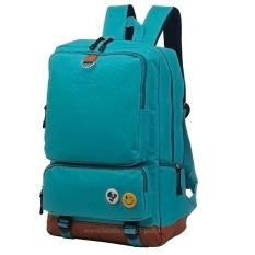Spesifikasi Tas Punggung Ransel Backpack Tas Sekolah Travel Bag 3P Fashion Bag Green Yg Baik