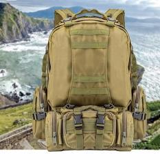 Jual Tas Punggung Ransel Backpack Travel Bag Army 3K Series Green Army Branded
