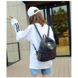 Beli Tas Punggung Travel Korean Bag Wanita Import Sc043 Black Cicil