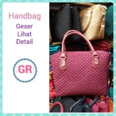 Tas Rajut Wanita Handbag Fashion Bahan Nilon Murah Berkualitas Handmade Asli Jogja