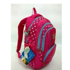 Tas Ransel Alto _72980A-pink fanta Original import + Waterproof Raincoat