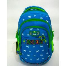 Tas Ransel Alto _73160V-1 Biru Original import + Waterproof Raincoat
