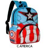 Beli Tas Ransel Anak Sekolah Karakter Kartun Litwind Captain America Tas Anak Tk Sd Indonesia