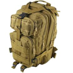 Top 10 Tas Ransel Army 3P Militer Import Shoulder Backpack Bag Khaki Online