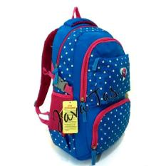Tas Ransel backpack Alto JV_71968V-1 biru + weather shield