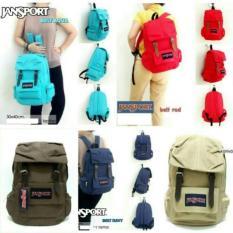 Tas Ransel / Backpack Jansport 2 Belt Tempat Laptop Cowok Cewek Murah - 55D6D6