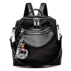 Tas Ransel / Backpack / Selempang Wanita Import Murah Terbaru CP 145 BLACK
