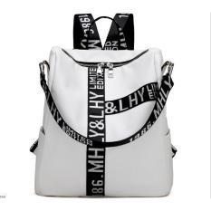 Tas Ransel / Backpack Wanita Import Murah Terbaru CP 102 WHITE