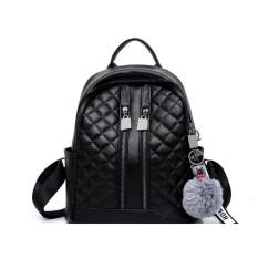 Tas Ransel / Backpack Wanita Import Murah Terbaru CP 116 BLACK