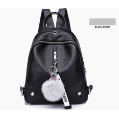Pusat Jual Beli Tas Ransel Backpack Wanita Import Murah Terbaru Cp 138 8 Black Indonesia