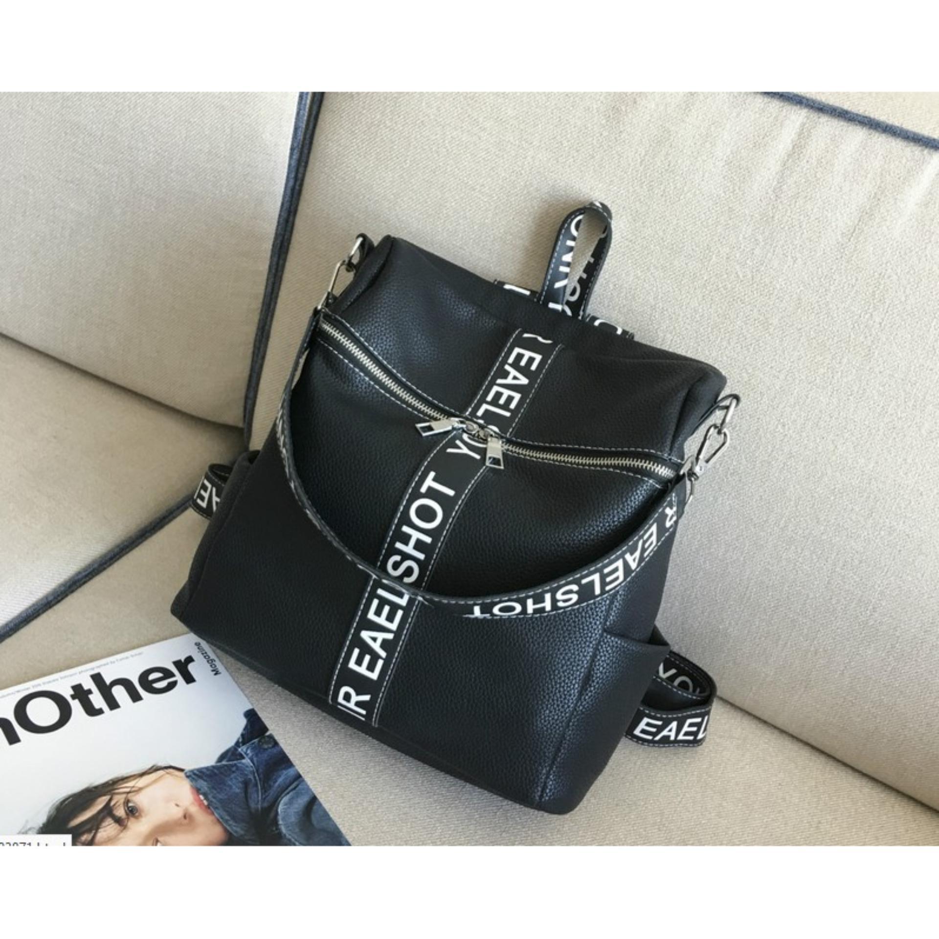 Genevieve 90053 Blue Cute Bagpack With Teddybear Tas Ransel8 90098 Ransel Backpack Wanita Import Murah Terbaru Cp 139 Black