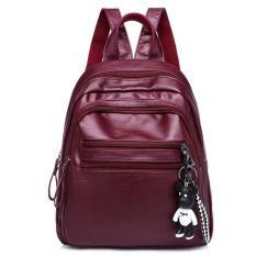 Spek Tas Ransel Backpack Wanita Import Murah Terbaru Cp 146 Red