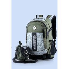 tas ransel bonus tas kecil /tas travel /tas tas ransel kuat / tas kemping pria cowok murah / tas kuliah - kampus pria