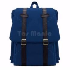 Tas Ransel Braun Fox - Korea M2M Tas Laptop Backpack - Navy Tas Pria Tas Wanita Tas Sekolah Dailypack Tas Fashion Pria