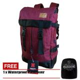 Top 10 Tas Ransel Carboni Semi Keril Volume 40L Ra00040 Polyester Serat Dolby Red Online