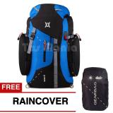 Jual Beli Online Tas Ransel Carrier Mccartney Wilder Pack Tas Gunung Camping Mountain Backpack Jungle Climbing Backpacker Free Raincover Blue Tas Pria Tas Fashion Pria