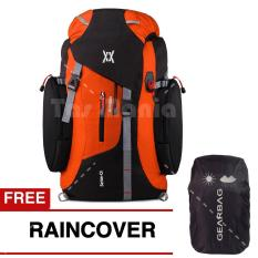 Tas Ransel Carrier Mccartney Wilder Pack Tas Gunung Camping Mountain Backpack Jungle Climbing Backpacker Free Raincover Orange Tas Pria Tas Fashion Pria Gear Bag Diskon