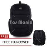 Review Toko Tas Ransel Gear Bag Aligator Tas Laptop Backpack Black Free Raincover Tas Pria Tas Kerja Tas Sekolah Dailypack Tas Fashion Pria Online