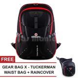 Spesifikasi Tas Ransel Gear Bag Scorpion X87 Tas Laptop Backpack Black Red Raincover Free Tas Selempang Gear Bag X Tuckerman Waist Bag Pria Tas Kerja Tas Messenger Tas Slempang Tas Fashion Pria Dan Harga