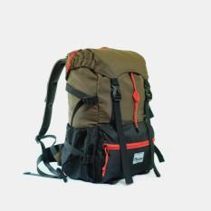 Tas Ransel Gunung Rucksack Merk Ninenine Scout Rucksack Black Army - 3E335A