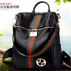 Jual Tas Ransel Import Black Branded Murah