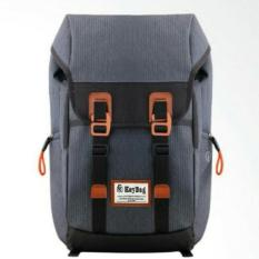 Tas Ransel Key Bag Korea Style 008 RBS 18 Inchi - Grey Original