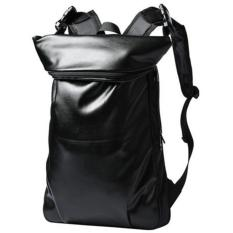 Tas Ransel Korean Style City PU Leather Backpack