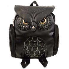 Tas Ransel Kulit Wanita Model Cute Owl