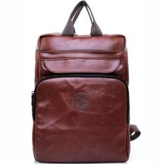 Tas Ransel Laptop Bag Leather Backpack Kulit Synthetic Tote Jinjing