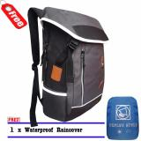 Jual Tas Ransel Laptop Expley Unisex 18Inch Hx43435 2 Korea Original Import Grey Raincover Ori