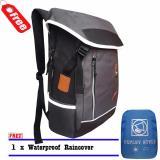 Spesifikasi Tas Ransel Laptop Expley Unisex 18Inch Hx43435 2 Korea Original Import Grey Raincover Yang Bagus
