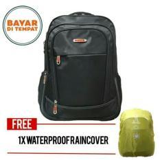 Harga Tas Ransel Pria Polo Hobby Backpack Expanding 4011 Zv Black Original Waterproof Raincover Lengkap