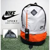 Beli Tas Ransel One Sport N I K E Grey Orange Online Murah