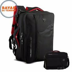 Spesifikasi Tas Ransel Palazzo 3In1 34685 17 Multifungsi Original Black Terbaik