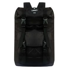 Harga Tas Ransel Backpack Pria Wanita Kanvas Tas Punggung Tas Sekolah Tas Kuliah Korean Bag Llc7203 Black Lengkap